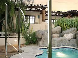 poolside showers