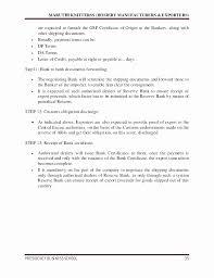 Forwarders Certificate Of Receipt Template Luxury Certificate Origin