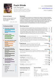 Colorful Ux Design Expert Resume Sample Vinodomia