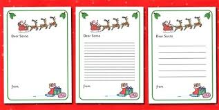 Letter To Kit With Envelope Template Red Turquoise Instant