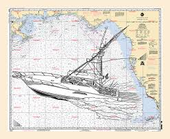 Gulf Coast Nautical Charts Sport Fishing Off The Gulf Coast