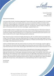 Corporate Letterhead Template The Benefits Of A Custom Letterhead