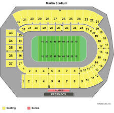 Martin Stadium Seating Chart Related Keywords Suggestions