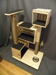 modern cat condo by theheftycatcondo on