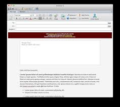open outlook template instructions for email template