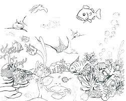 Ocean Coloring Page Cute Octopus Coloring Page Free Printable Ocean