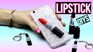 diy crafts 3 fun lipstick diys diy phone case keychain bracelet mac lipstick inspired diy projects