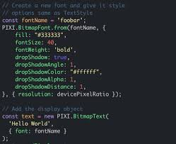 Would you like to create a new example? Pixijs On Twitter Another Important Note Is That In V5 3 0 We Converted All Our Source To Typescript It Was A Huge Undertaking But One That Will Help Us Make Pixijs More Maintainable