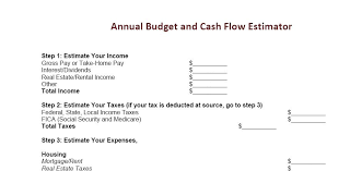 simple annual budget template how to prepare an annual budget to keep finances in order one cent