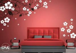 Bedroom Painting Designs Wonderful Adorable Wall For Bedrooms About Design  Home 25