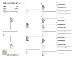 Family Tree Chart Word Format Template For Skincense Co