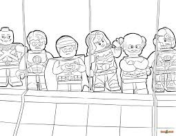 Alluring Justice L Luxury Justice League Coloring Pages To Print