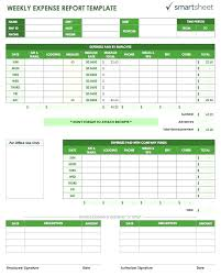 Expense Report Forms Free Expense Report Template Excel