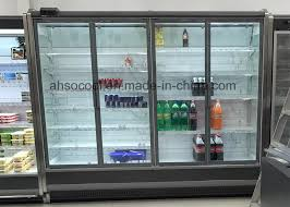 china glass door refrigerator with large display area and superior visibility china glass door refrigerator supermarket freezer