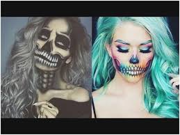 makeup tutorial of scary post