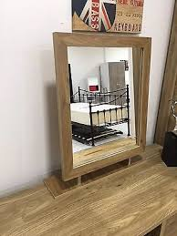 mirror effect furniture. Holland Furniture | Oak Effect Free Standing Large Dressing Table Desk Mirror