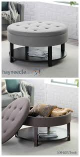 best round storage ottoman coffee table with 1000 ideas about storage ottoman coffee table on