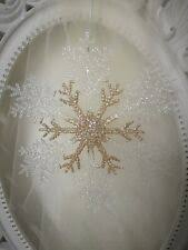Eiskristalle In Weihnachtliche Fensterdekoration Günstig
