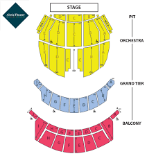 Hamilton Broadway Theater Seating Chart Seating Charts Altria Theater Official Website