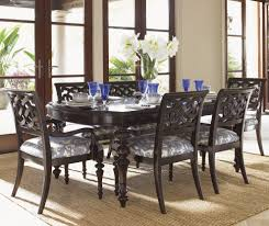 TommybahamahomeSpacesTropicalwithAsianinspiredbamboo - Asian inspired dining room