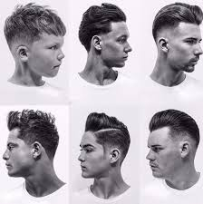 Barber Shop Haircut Styles Chart Hairstyle Ideas
