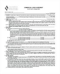 Free Residential Lease Agreement Word Doc Simple Form Rental Format ...
