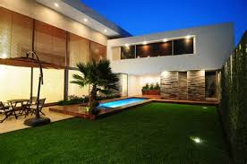 Modern Backyard Design Property Interesting Decorating