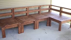 diy 2x4 outdoor sectional for only around 100 bucks and then just put cushions on it a friday night fire diy wood patio furniture n97 furniture