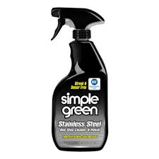 The Best Way To Clean Stainless Steel Appliances Simple Green 32 Oz Stainless Steel Cleaner 3500000118300 The