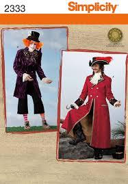 Pirate Costume Pattern New Simplicity 48 Men's Costumes