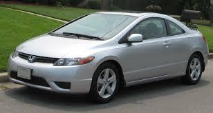 International Fast Cars: Honda Civic Coupe Black