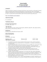 Net Developer Resume Fascinating Net Developer Resume Net Cool Senior Net R Resume Sample Senior Net