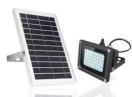 Solar Powered Flood Lights Outdoor Solar Powered Flood Light Outdoor Simex 54 Ip65 Waterproof