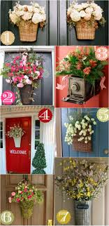 front door decorating ideas36 Creative Front Door Decor Ideas not a wreath  Home Stories A
