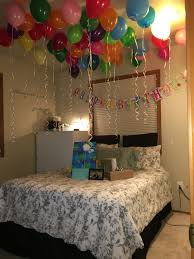 Birthday surprise for boyfriend! Since I'm not 21 yet we couldn't