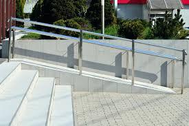 concrete wheelchair ramp installation tips home improvement base installing a ada construction details