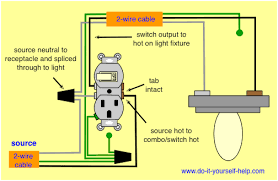 light switch wiring diagrams do it yourself help com Leviton Double Switch Wiring Diagram wiring diagram, combo switch leviton double pole switch wiring diagram