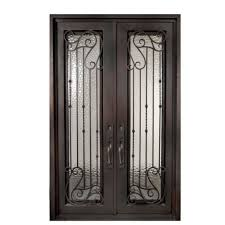 double exterior metal door. fascinating front porch decoration with full glass entry doors : entrancing picture of and double exterior metal door n