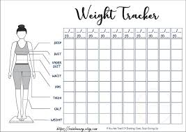 Weight Measurement Chart Printable Pin On Planners Printable