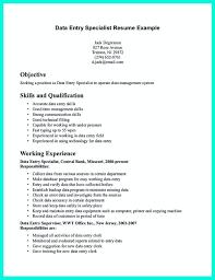 Data Entry Skills Resumes Good Resume Skills For Data Entry Resume Examples Resume