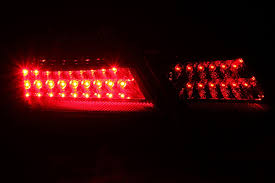 Amazon.com: Anzo USA 321163 Toyota Camry Black LED Tail Light ...