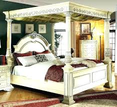 king size canopy bed with curtains – mdrive.info