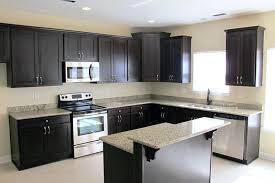 dark cabinets light countertops kitchen dark cabinets light granite plus white ceramic flooring decor also ceiling lamps with color then dark kitchen