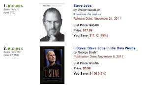 people reach for steve jobs bio in large numbers author knew  40 714513 74 005122