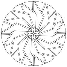 Small Picture Simple Mandala Flower Coloring Pages Elioleracom