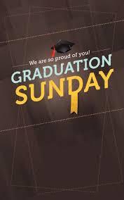 Graduation Cover Photo Graduation Sunday Program Cover Designs Secular Holiday Bulletin