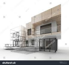 architecture drawing. House Design Progress, Architecture Drawing And Visualization