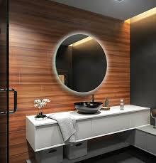 Rund Badspiegel Led Beleuchtung Wandspiegel Badezimmerspiegel