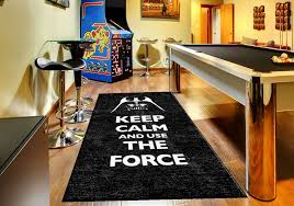 Star Wars Keep Calm and use The Force Rug