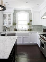 blue kitchen backsplash dark cabinets. Backsplash Light Grey Subway Tile Kitchen Rustic With Dark Cabinets Gray Ceramic Colored Shower Blue H